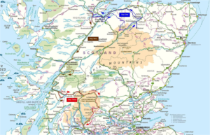 Scottish Map Lonville Classic 2017